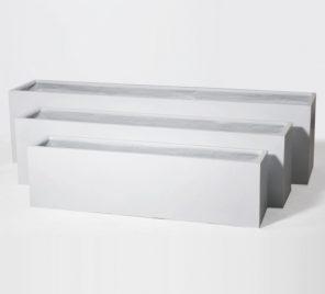 THOMAS WHITE FIBERGLASS PLANTER